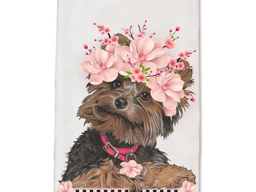 Selling: Dish Towel - Yorkshire Terrier (Yorkie)