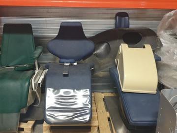 Gebruikte apparatuur: Verschillende tandarts stoelen