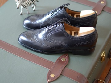 Online payment: J.M. WESTON golf brogue oxford shoes - 6.5D