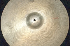 """Selling with online payment: 1970s Ludwig Standard  PAISTE 18"""" medium crash cymbal Swiss made"""