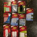 Liquidation/Wholesale Lot: 50 PC Lot of 3M Command Hooks and Scotch Mounting Squares
