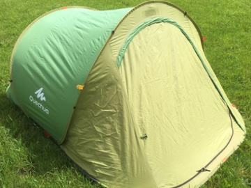 Renting out with online payment: Quechua Pop UP Tent for 2 - courier service available