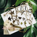 Liquidation/Wholesale Lot: Oscar de la Renta Vintage Signed Jewelry NEW Rare