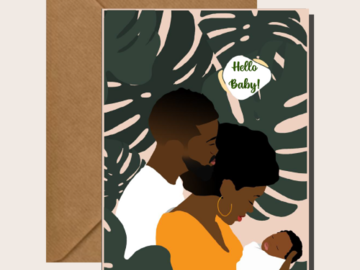 For Sale: Hello Baby - New Baby Cards