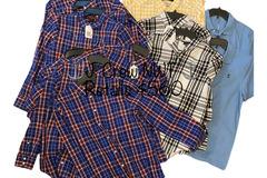 Liquidation/Wholesale Lot: J. Crew Men's Button Down & Polo Style Shirts, 14 NWT