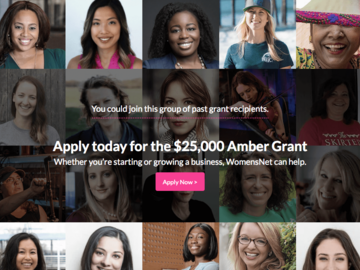 Promotions & Giveaways: WomensNet Amber Grants