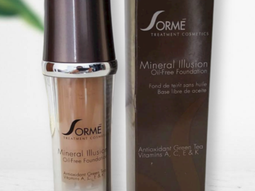 Venta: Sorme Cosmetics Maquillaje mineral sin aceites