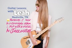 30 minute lessns: Guitar & Voice Lessns with Leah SKYPE/ZOOM (30 min TRIAL LESSON)