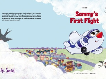 Illustration work : 36 Full-Pages Children's book+ COPYRIGT