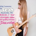 Guitar - 60 Minute: Guitar & Voice Lessns with Leah SKYPE/ZOOM (60 min TRIAL LESSON)