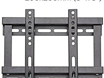 Liquidation/Wholesale Lot: New TV Wall Mount Bracket For Flat Screen TVs (Fixed 13″ To 37″)