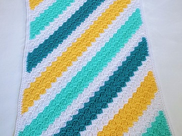 Selling with online payment: Baby Afghans Crocheted C2C