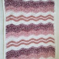 Selling with online payment: Baby Afghans Crocheted Ripple