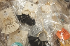 Liquidation/Wholesale Lot: 50 pc Mixed  Lot of Necklaces, Earrings, Bracelets, Rings