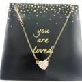 Liquidation/Wholesale Lot: 12 Love w/ Arrow Necklaces on Beautiful Cards