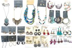 Liquidation/Wholesale Lot: 100 pcs Name Brand Jewelry Lot- Erica Lyons, Massini, Mixit, ect.