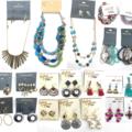 Liquidation/Wholesale Lot: 50 pcs Name Brand Jewelry Lot- Erica Lyons, Massini, Mixit, ect.