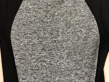 Selling without online payment: Black and grey dress