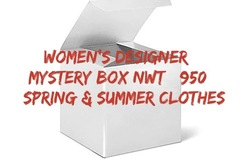Liquidation/Wholesale Lot: Women's Designer Clothing Lot NWT $950 Read Desc