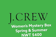 Liquidation/Wholesale Lot: Women's J. Crew Mystery Box NWT $800