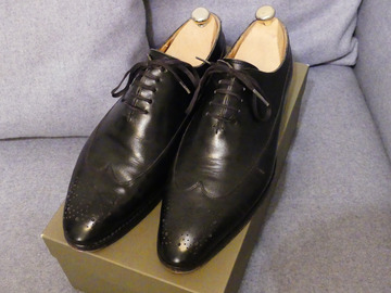 Online payment: Black Balmoral Oxfords Septième Largeur - 7 UK