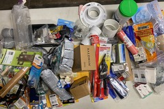 Liquidation/Wholesale Lot: 85 PC General Home Goods Hardware Tools Lot #6028