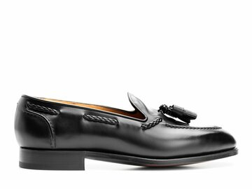 Online payment: Edward Green Belgravia in black calf, size 10.5, new with box