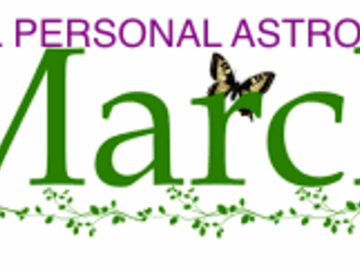 Selling: FULL PERSONAL ASTROLOGY -MARCH 2021