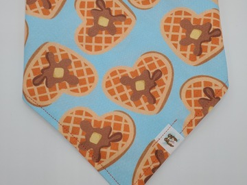 Selling: I Heart Waffles pet bandana