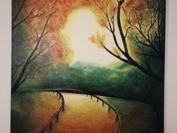 Sell Artworks: Autumn trail (Sentiero d'autunno)