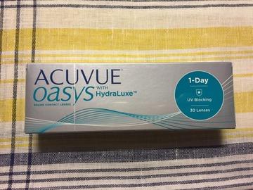 Myydään: Acuvue Oasys 1-Day