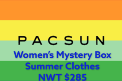 Liquidation/Wholesale Lot: Women's PacSun Mystery Box NWT $285