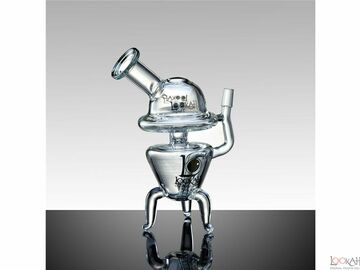 Post Now: 8.5'' LOOKAH UFO Dab Rig Smoking Glass Water Pipe