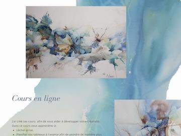 Offre: Cours en ligne Aquarelle - Online Watercolour Classes