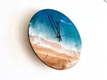 : Wall Clock - Aqua
