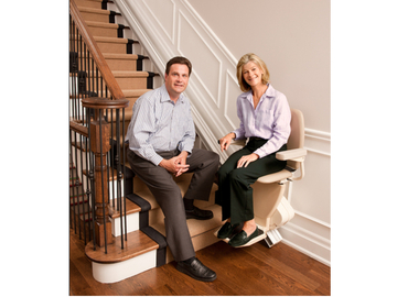 SALE: Straight stairlift. Certified pre-owned with warranty.