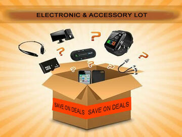 Liquidation/Wholesale Lot: Electronic And Accessory Mystery Lot Of 12 PCS NEW