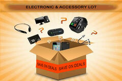 Liquidation/Wholesale Lot: Electronic And Accessory Mystery Lot Of 12 PCS ALL NEW