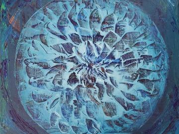 Sell Artworks: Blue Zen