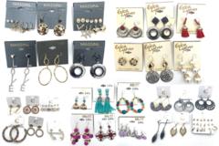 Liquidation/Wholesale Lot: $2,000.00 Name Brand Jewelry Lot- Erica Lyons, Massini,Mixit ect.