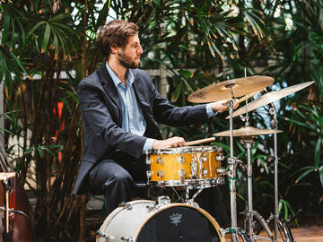 TRIAL LESSON 60 min: Drum Lessns w/ Charlie (60 minute TRIAL LESSON)