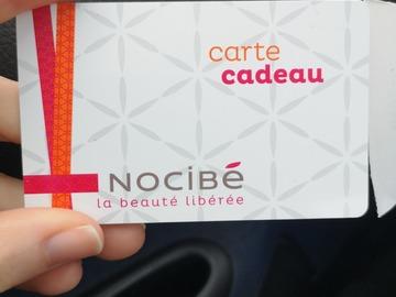 Vente: Carte cadeau Nocibé (130€)