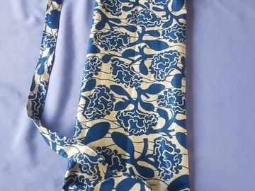 Vente au détail: Sac pour tapis de yoga en tissu wax