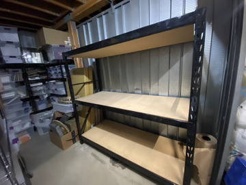 For Sale: STORAGE AND SHELVING UNITS AVAIL FOR SALE