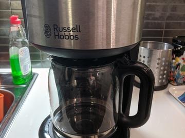 Myydään: Russell Hobbs coffee maker with brand new pot