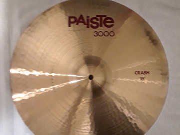 "Selling with online payment: Paiste 3000 18"" Crash Cymbal"