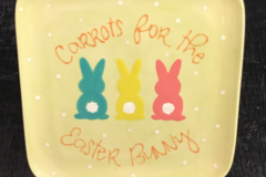Selling with online payment: Carrots for the Easter Bunny Plate