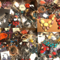 Liquidation/Wholesale Lot: 100 LBS TREASURE TROVE OF JEWELRY  SALE  For  1 day only !