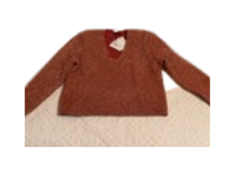 For Sale: Scanlan Theodore sparkling sweater in rose size 12 - never worn
