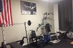 Vermiete Gym pro Tag: Private Gym/Sportraum/Fitnesstudio